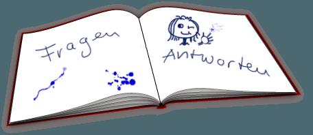ein aufgeklapptes Buch
